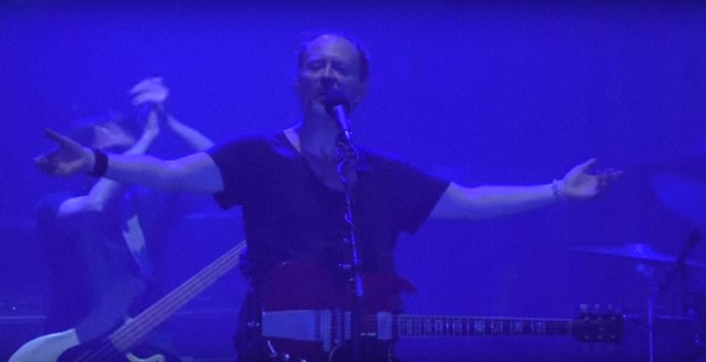Radiohead's Tel Aviv concert. Credit: YouTube.