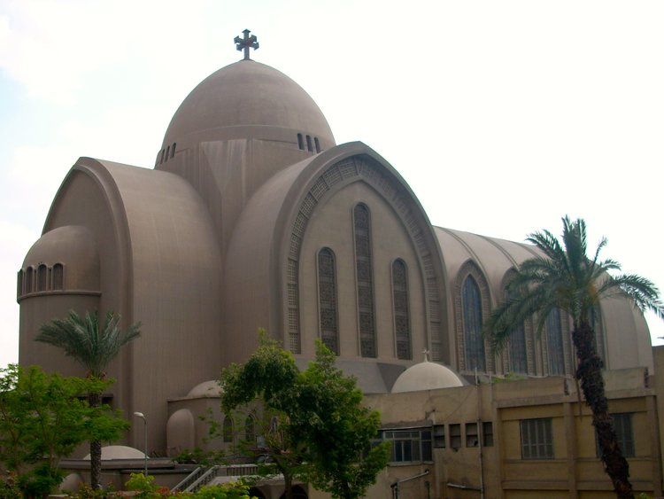 St. Mark's Coptic Orthodox Cathedral in Cairo. Egypt's Coptic Christians are among the persecuted Christian communities in the Middle East. Credit: Wikimedia Commons.