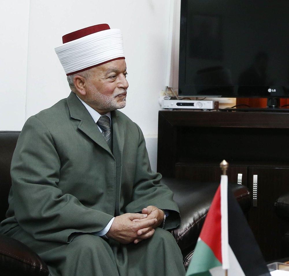 The mufti of Jerusalem, Mohammed Hussein. Credit: Dragan Tatic via Wikimedia Commons.