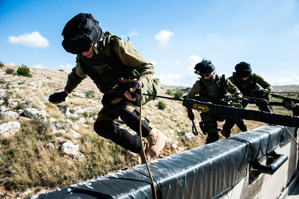 Training at the IDF's Counter-Terrorism School, near Modi'in in central Israel. Credit: IDF.