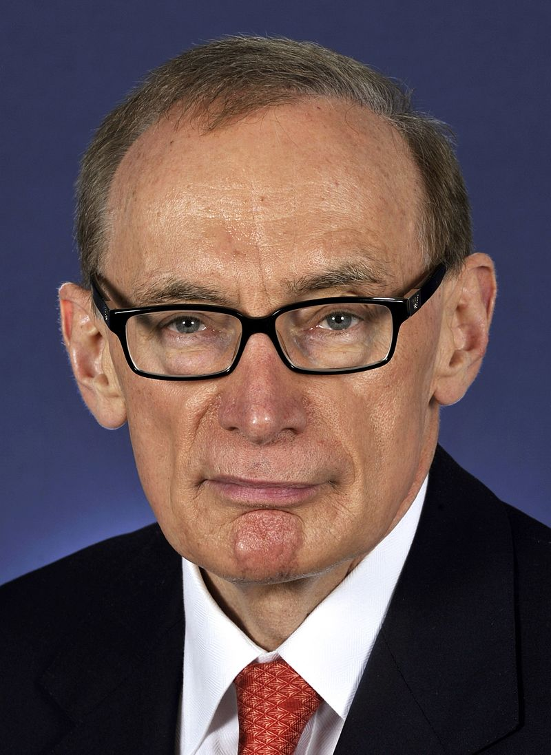 "Former Australian Foreign Minister Bob Carr, a leader of the New South Wales (NSW) branch of Australia's Labor party, called NSW Labor's Palestinian statehood recognition vote a ""historic shift."" Credit: Australian Department of Foreign Affairs and Trade."