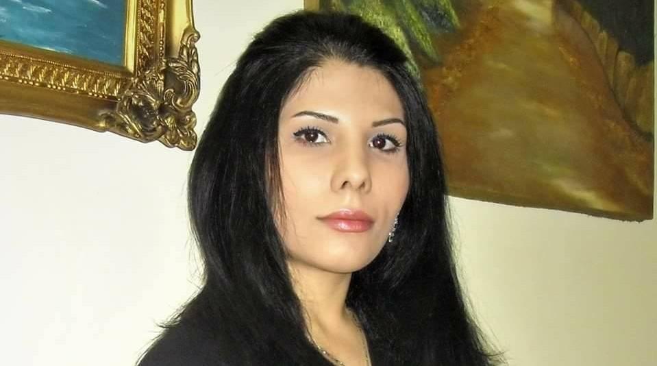 Iranian blogger Neda Amin. Credit: Provided photo.