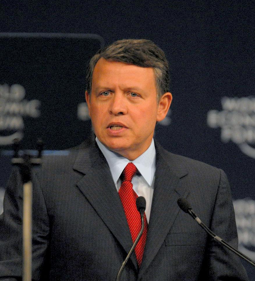 Jordan's King Abdullah. Credit: World Economic Forum.