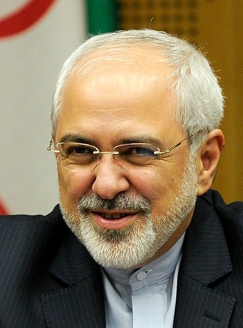 Iran's Foreign Minister Mohammad Javad Zarif. Credit: Wikimedia Commons.