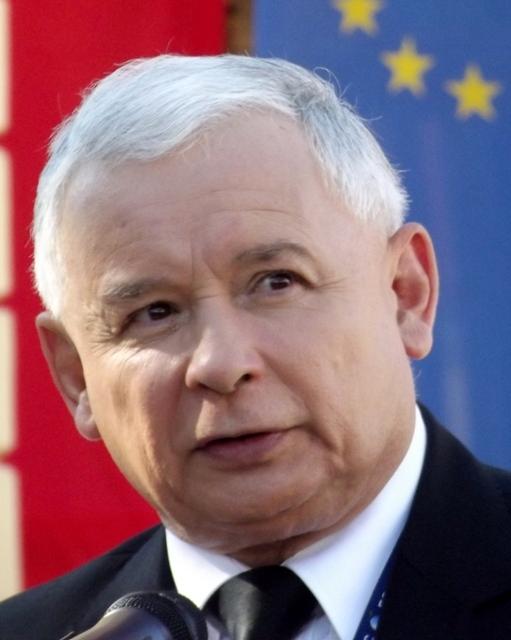 The head of Poland's Law and Justice Party, Jaroslaw Kaczynski. Credit:Piotr Drabik via Wikimedia Commons.