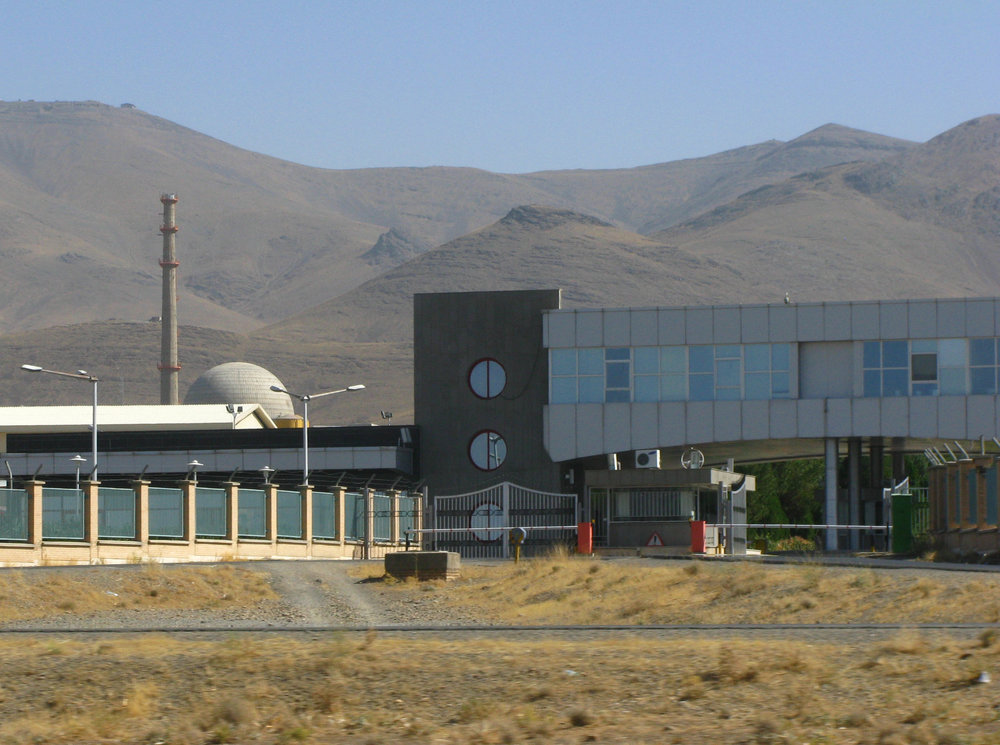 The Iranian nuclear program's heavy water reactor near Arak. Credit: Nanking2012 via Wikimedia Commons.