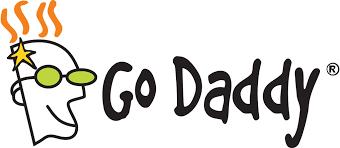 The GoDaddy company logo. Credit: Wikimedia Commons.