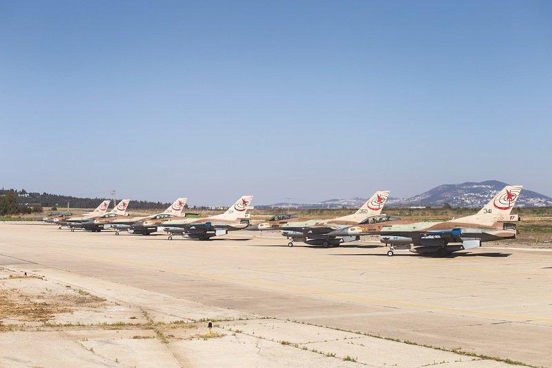 Israeli Air Force (IAF) planes. Credit: IAF via Twitter.