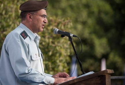 Brig. Gen. Dr. Tarif Bader, the first Druze individual to serve as the IDF's chief medical officer. Credit: IDF.