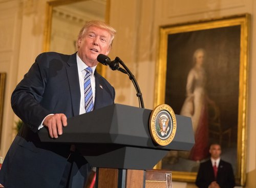 President Donald Trump. Credit: Department of Labor/Shawn T. Moore.