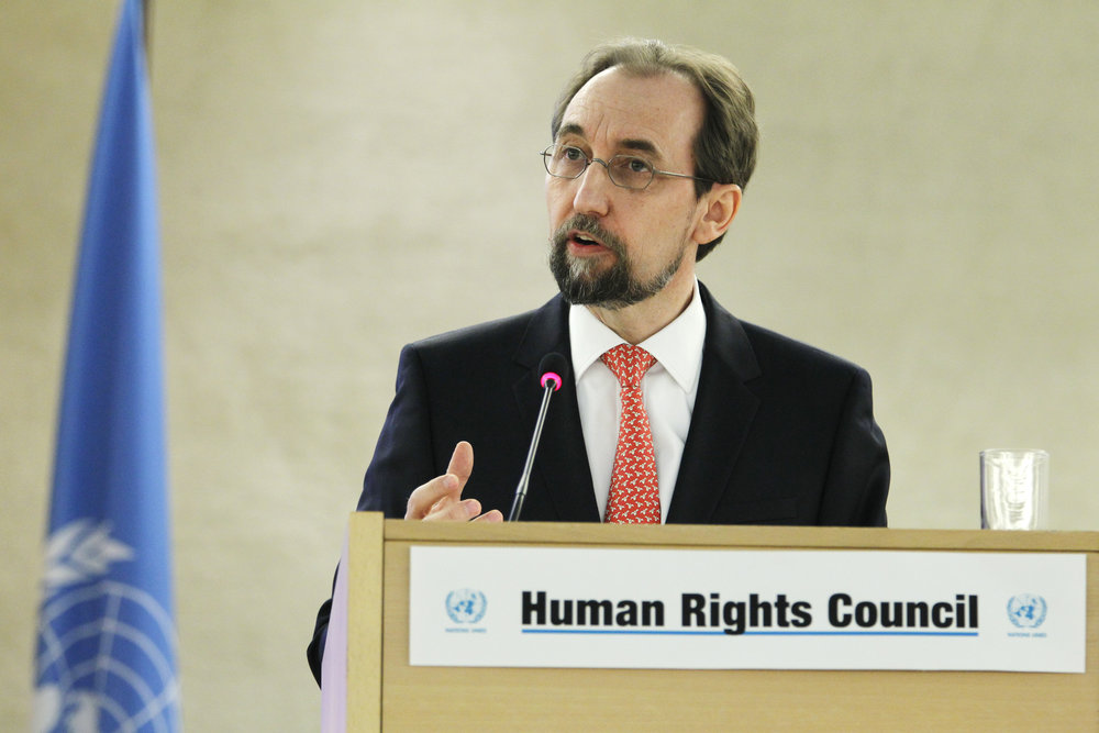 United Nations High Commissioner for Human Rights Prince Zeid bin Ra'ad Zeid al-Hussein. Credit: U.N. Photo/Pierre Albouy.