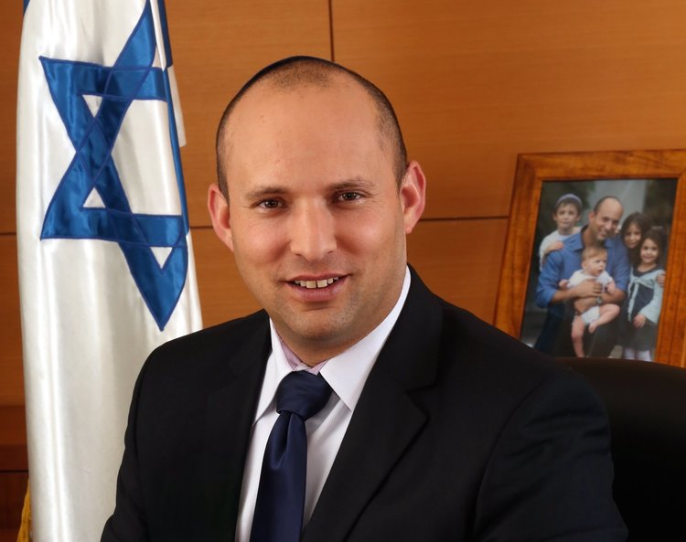 Israeli Education Minister Naftali Bennett. Credit: Israeli Ministry of Economy via Wikimedia Commons.