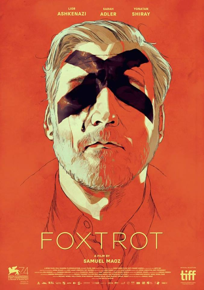 "A film poster for ""Foxtrot."" Credit: Facebook."