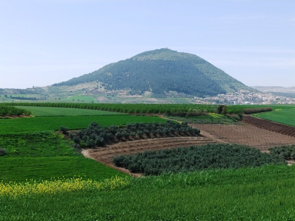 Mount Tabor. Credit: Wikimedia Commons.
