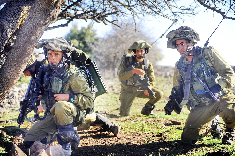 A previous IDF drill in northern Israel. Credit: IDF.