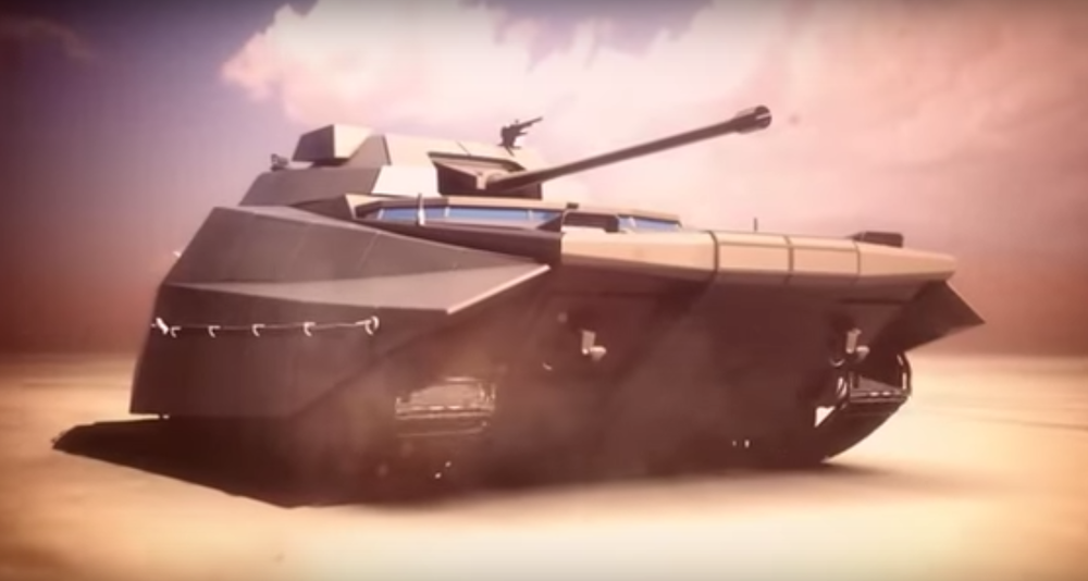 The IDF's future Carmel armored vehicle. Credit: YouTube.
