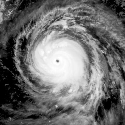 A satellite image of Hurricane Irma. Credit:Naval Research Laboratory