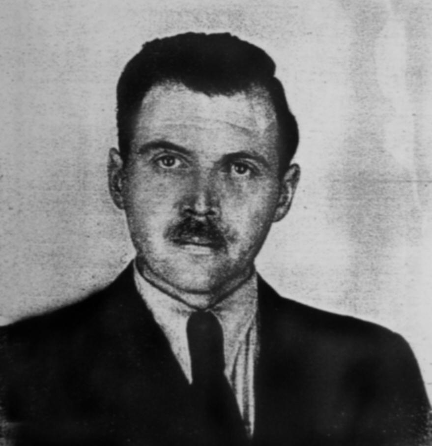 Josef Mengele in 1956. Credit:Gerald Astor via Wikimedia Commons.