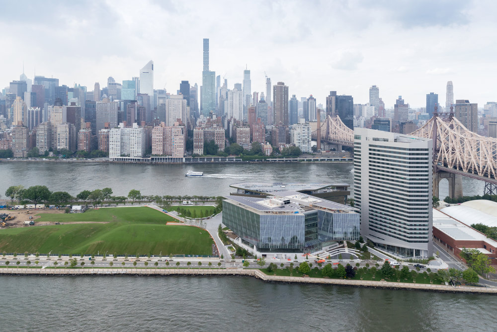 A view of the Cornell Tech campus in New York City, home of the Jacobs Technion-Cornell Institute. Credit: Iwan Baan.