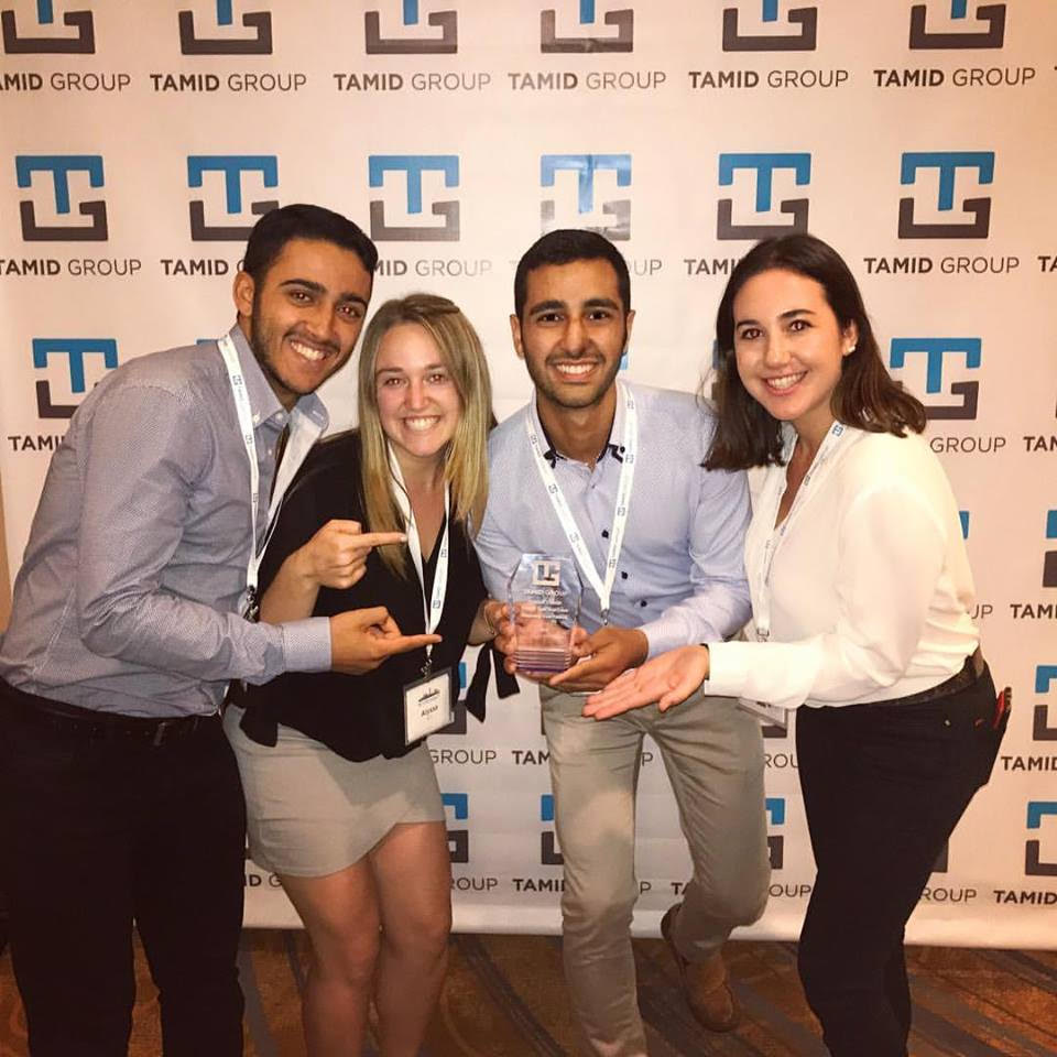 Students at the TAMIDcon 2017 held in Washington, D.C. in early September. Credit: TAMID Group.