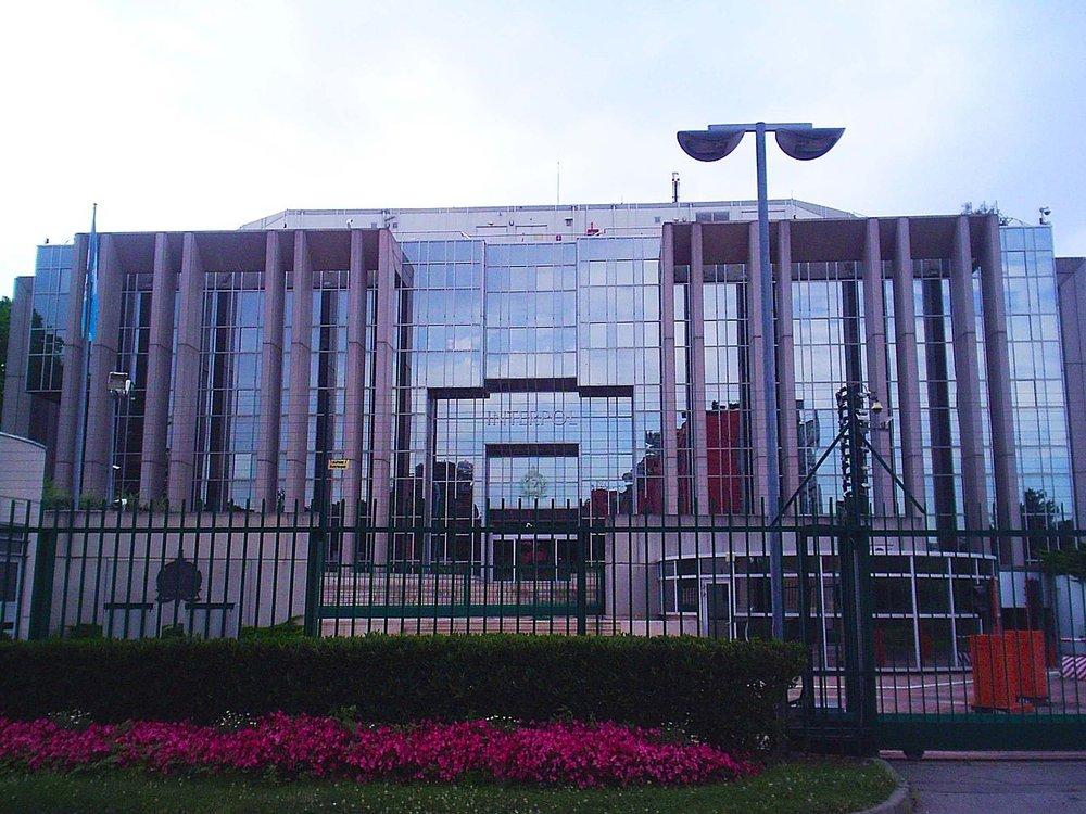 The headquarters of Interpol in Lyon, France. Credit: Wikimedia Commons.