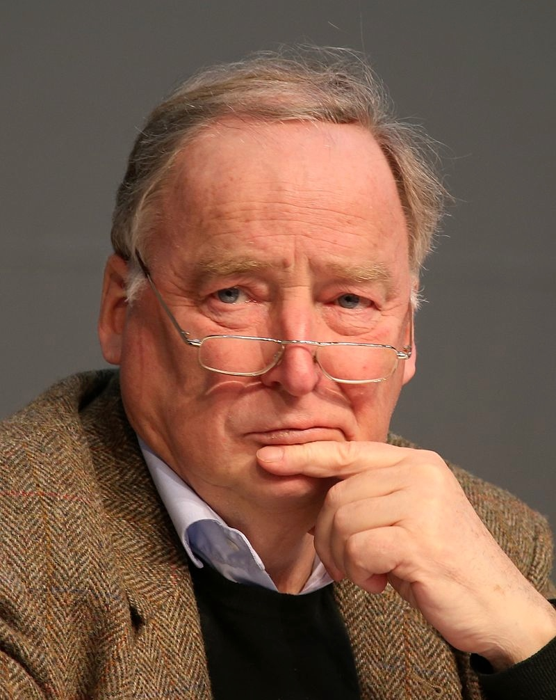 Alexander Gauland, a leader of the far-right political party Alternative for Germany (AfD). Credit: Metropolico.org via Wikimedia Commons.