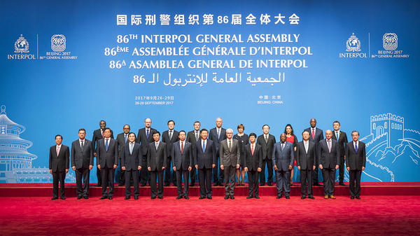 The Interpol General Assembly in Beijing. Credit: Interpol.