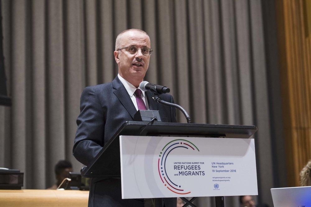 Palestinian Authority Prime Minister Rami Hamdallah. Credit: U.N. Photo/Amanda Voisard.