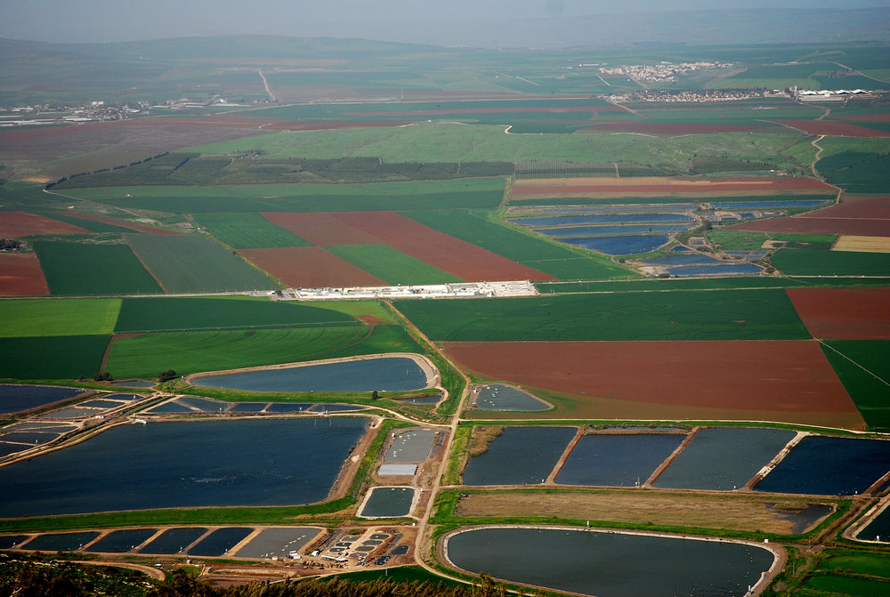Agricultural fields in Israel's Jezreel Valley. Credit: PikiWiki Israel.