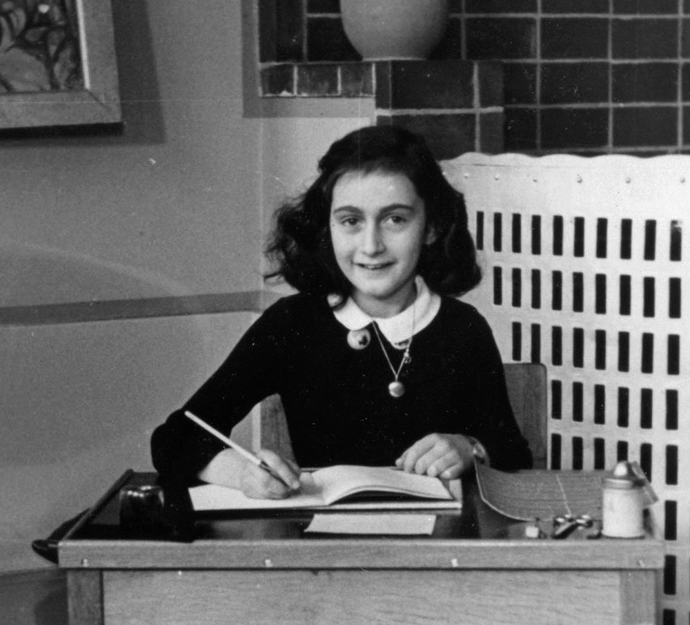 Anne Frank. Credit: Collectie Anne Frank Stichting Amsterdam via Wikimedia Commons.