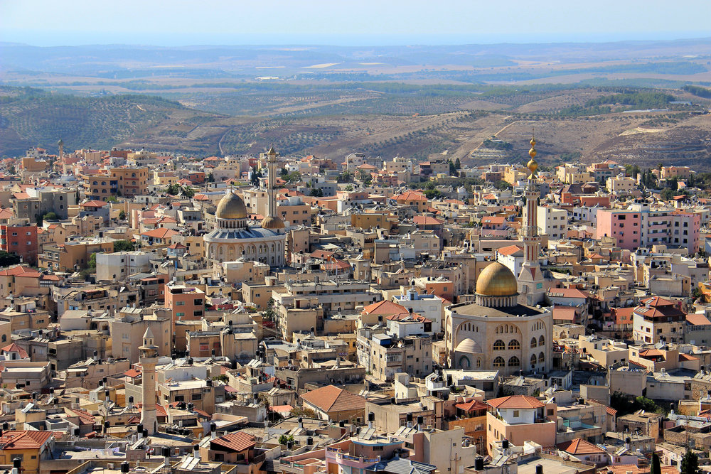 The predominantly Arab city of Umm al-Fahm in northern Israel. Credit: Moataz1997 via Wikimedia Commons.