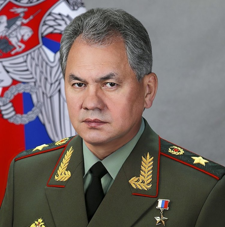 Russian Defense Minister Sergei Shoigu. Credit: Mil.ru via Wikimedia Commons.