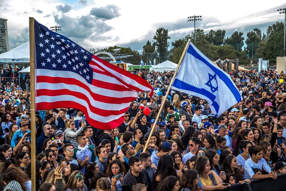 """The Israeli-American Council's """"Celebrate Israel"""" festival in Los Angeles earlier this year. Credit: Facebook."""