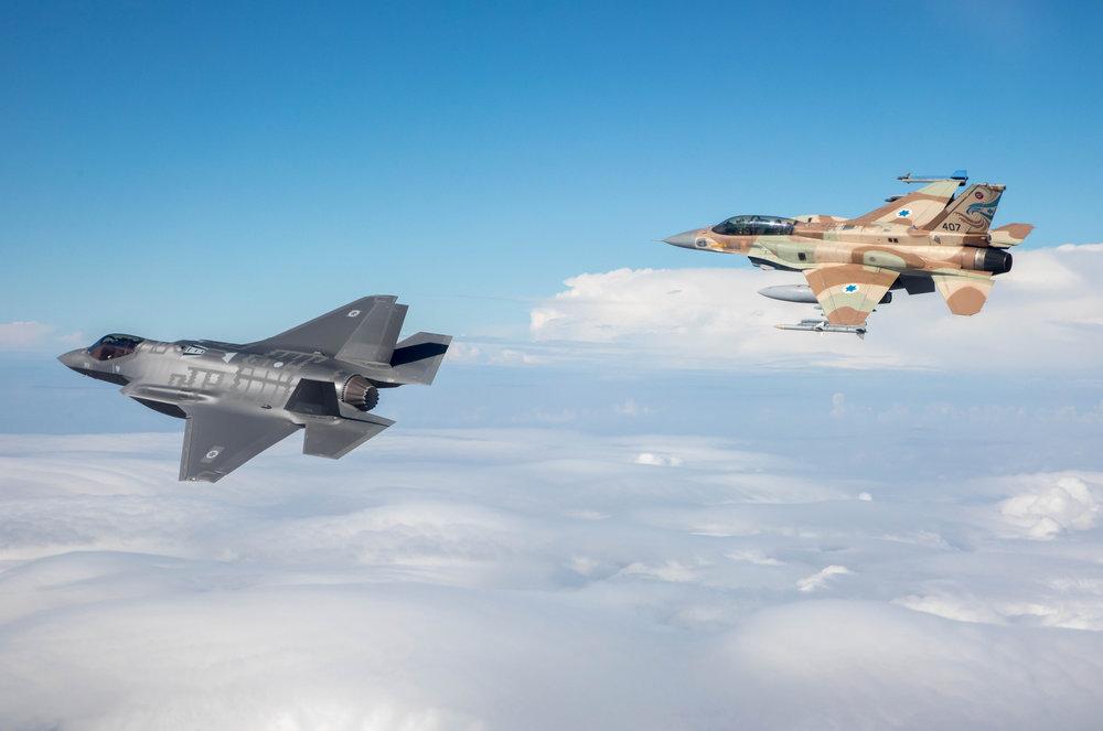 Israeli Air Force planes. Credit: Major Ofer/Israeli Air Force.