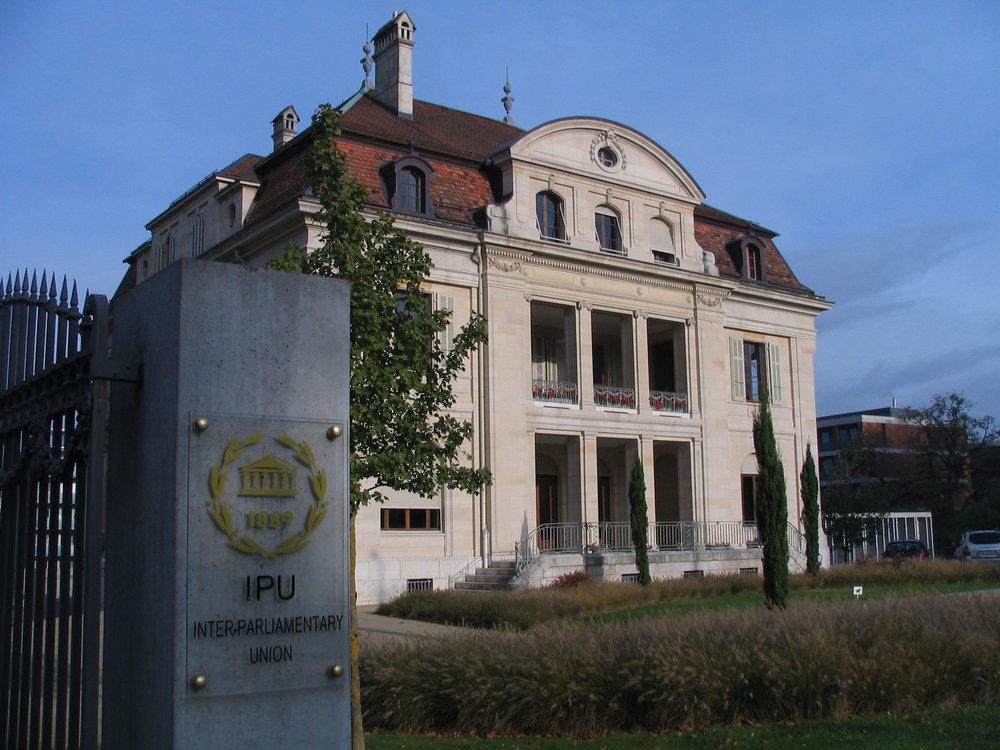 The Inter-Parliamentary Union's headquarters in Geneva. Credit: Hadi via Wikimedia Commons.