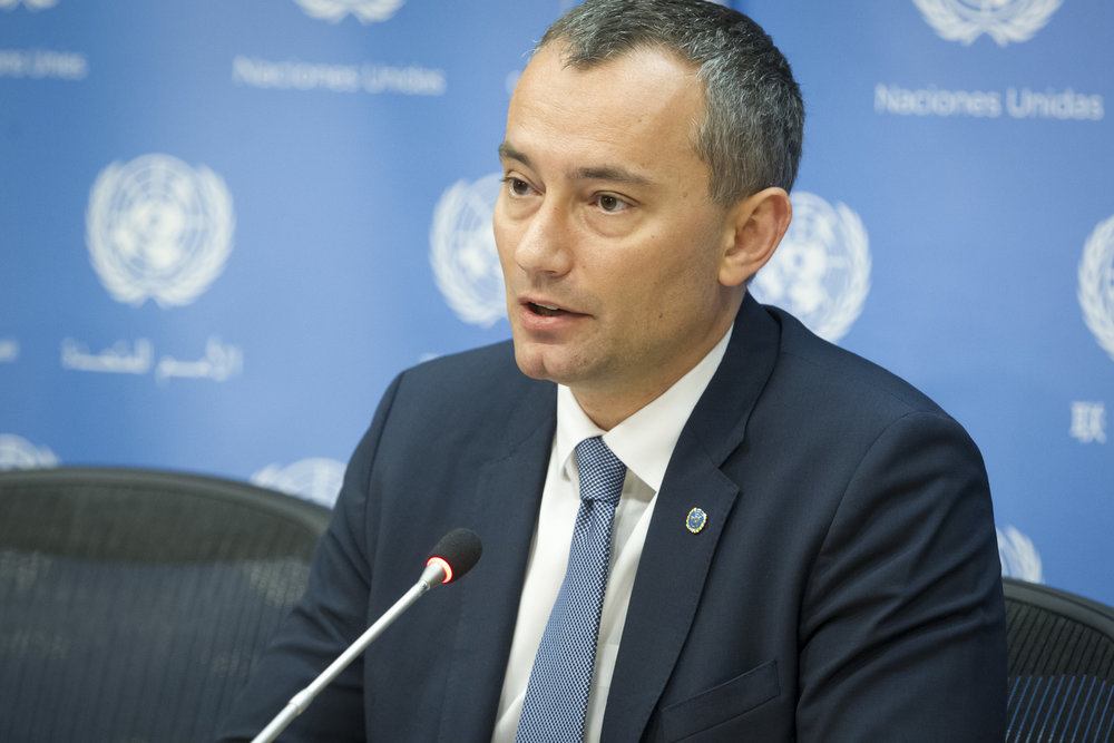 Nickolay Mladenov, the United Nations special coordinator for the Middle East peace process. Credit: U.N. Photo/Loey Felipe.