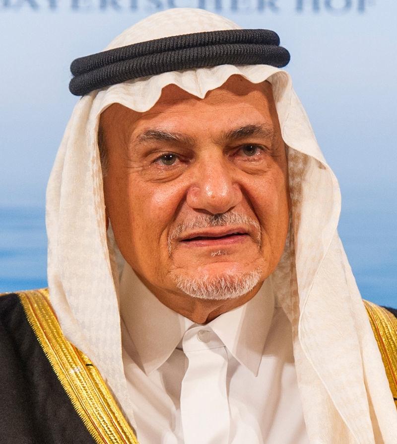Prince Turki al-Faisal, former head of Saudi Arabia's General Intelligence Directorate. Credit:Mueller/MSC via Wikimedia Commons.