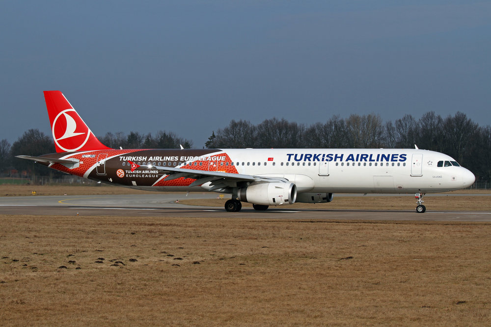 A Turkish Airlines plane. Credit: Björn Strey via Wikimedia Commons.