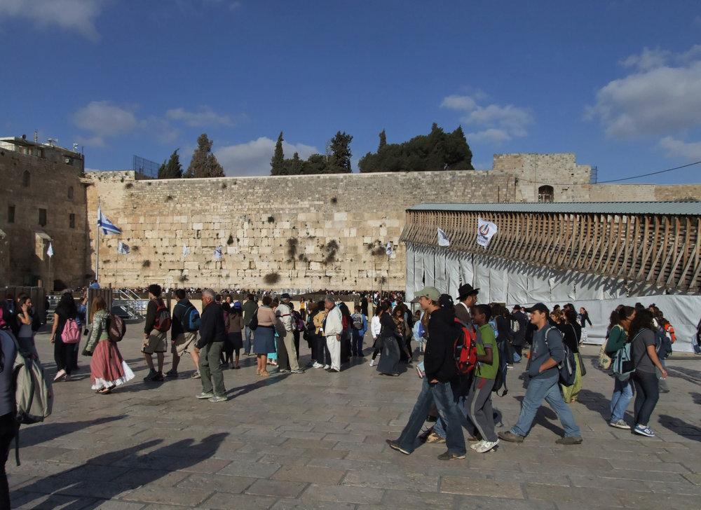 The Western Wall in Jerusalem. Credit: Emmanuel DYAN via Wikimedia Commons.