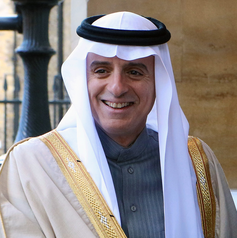 Saudi Arabia's Foreign Minister Adel al-Jubeir. Credit: Foreign and Commonwealth Office via Wikimedia Commons.