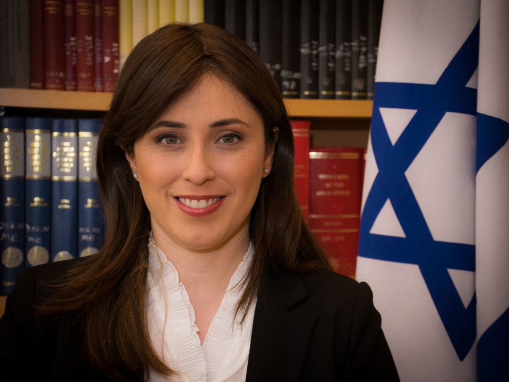 Israeli Deputy Foreign Minister Tzipi Hotovely. Credit: Arielinson via Wikimedia Commons.
