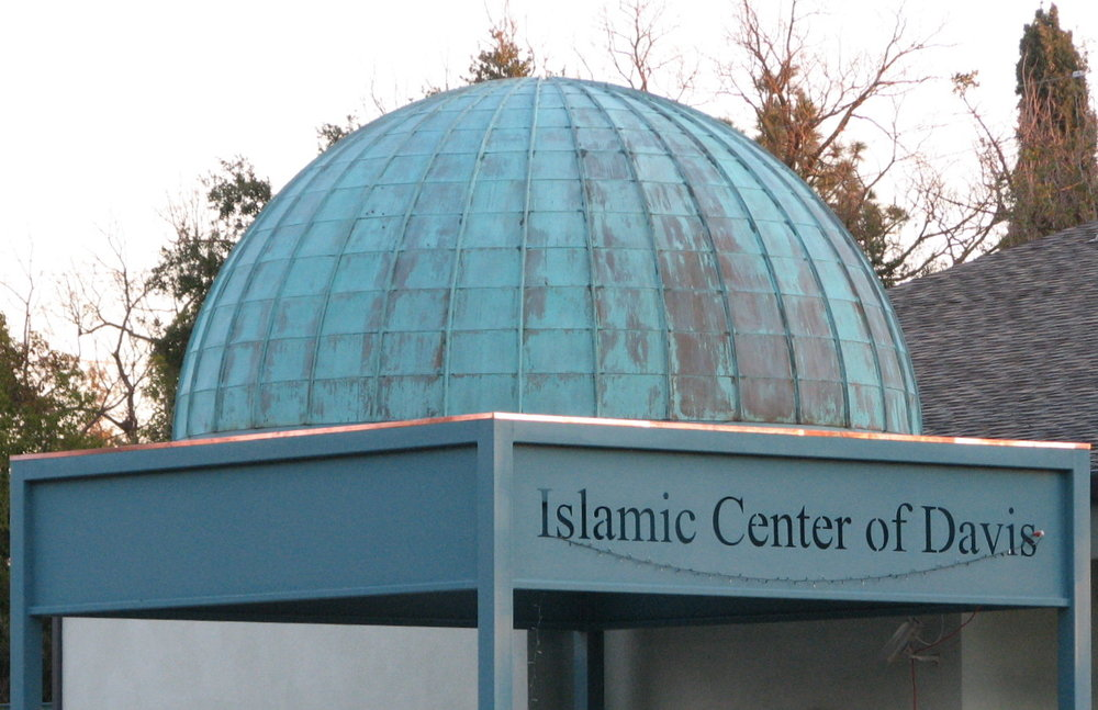 """The leader of the California-based Islamic Center of Davis (pictured) said in July, """"Oh Allah, liberate the Al-Aqsa mosque from the filth of the Jews...count them one by one and annihilate them down to the very last one."""" Credit: LocalWiki."""