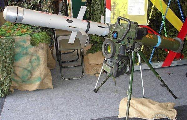 An Israeli Spike anti-tank missile. Credit: Dave1185 via Wikimedia Commons.