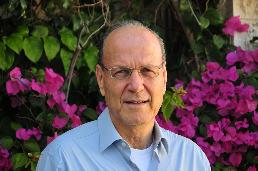 Israeli demographic expert Yoram Ettinger. Credit: Courtesy of Yoram Ettinger.