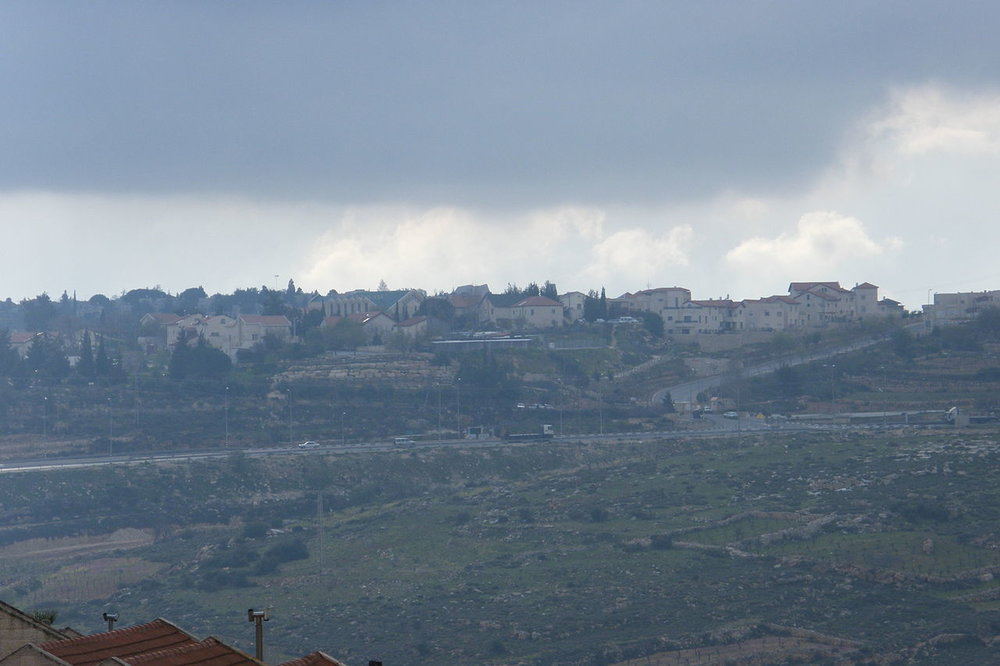 A view of Elazar in the Gush Etzion bloc in Samaria. Credit: Wikimedia Commons.