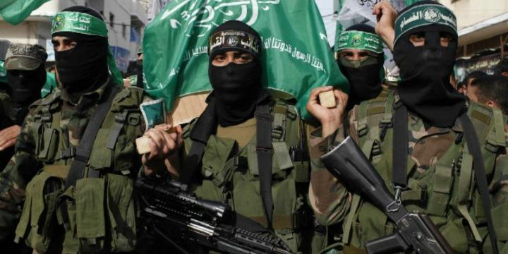 Hamas terrorists. Credit: Wikimedia Commons.