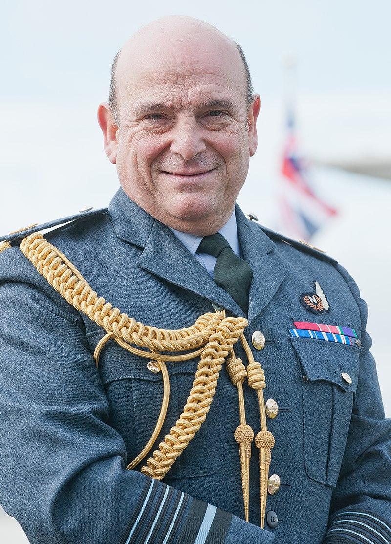 Air Chief Marshal Sir Stuart Peach. Credit: Mark Rawlings via Wikimedia Commons.