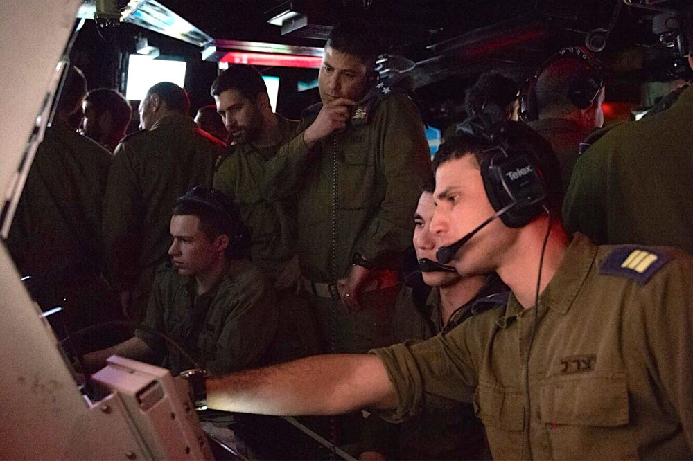 Israeli military personnel operate the C-Dome, the new maritime version of Israel's Iron Dome anti-rocket system. Credit: IDF Spokesperson's Unit.
