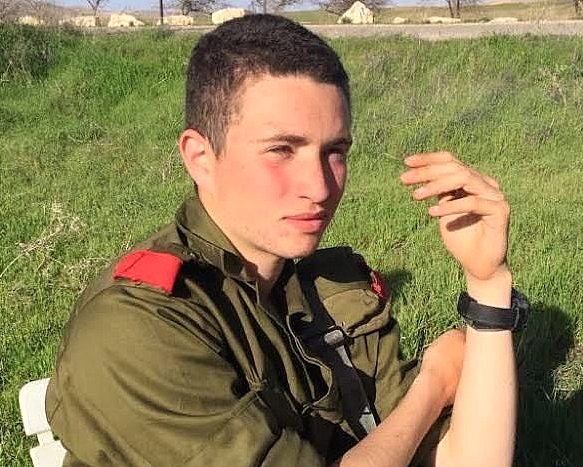 Israeli soldier Ron Yitzhak Kokia, who was stabbed to death on Thursday in Arad. Credit: IDF.