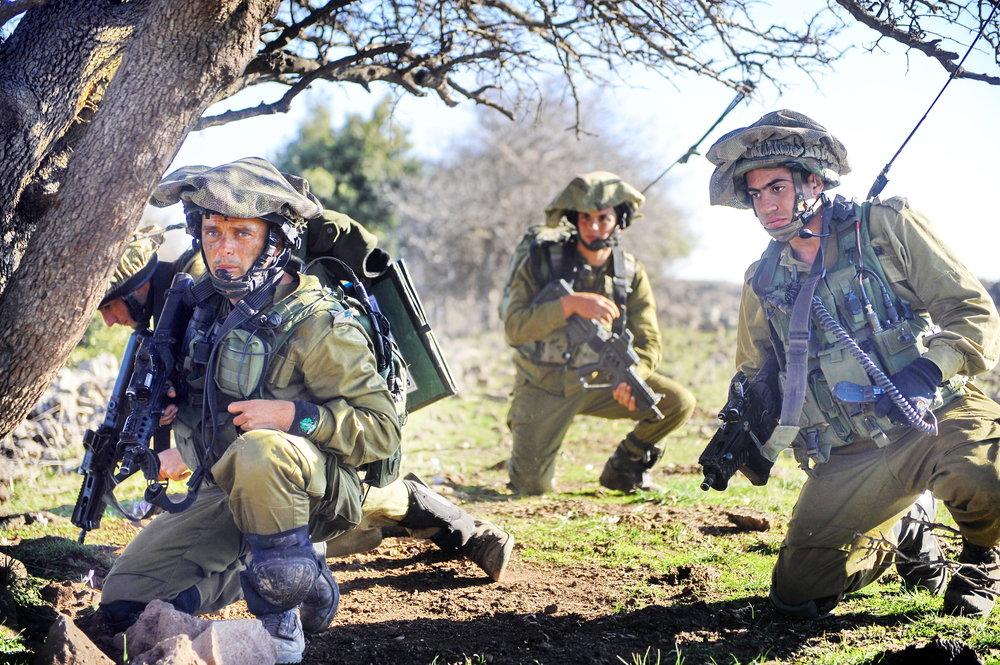 A past IDF drill in northern Israel. Credit: IDF.